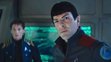 Le flegmatique Spock reste la star à bord de l'USS Enterprise, mais l'un des nouveaux membres de l'équipage est sans doute plus connu puisqu'il s'agit de Jeff Bezos.