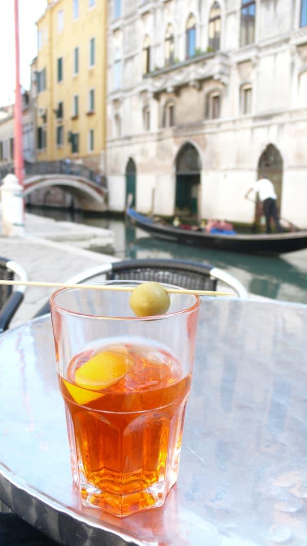 Le Spritz, cocktail aux accents italiens.