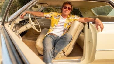 Brad Pitt dans Once Upon a Time ... Hollywood de Tarantino -