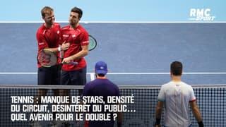 Tennis : Manque de stars, densité du circuit, désintérêt du public… Quel avenir pour le double ?
