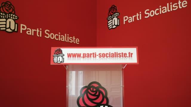 Photo prise le 28 juin 2006 au siège du parti socialiste à Paris (illustration)