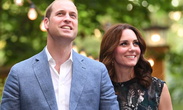 William et Kate en juillet2017 à Berlin