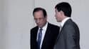 François Hollande et Manuel Valls