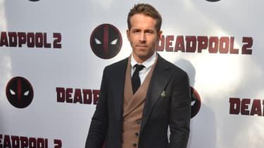 Ryan Reynolds à l'avant-première de Deadpool 2