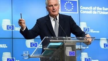 Michel Barnier est chargé des négociations avec Londres en vue du Brexit.