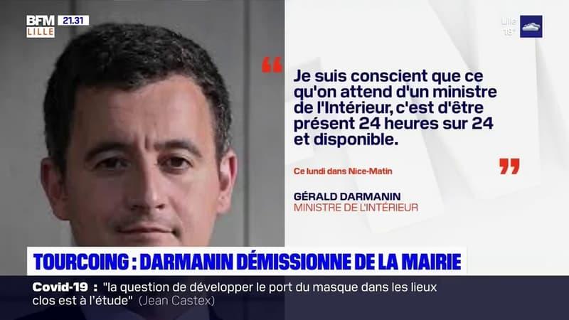 Tourcoing: Gérald Darmanin va démissionner de son mandat de maire