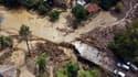 De violentes inondations frappent la Turquie, après les incendies, le 11 août 2021.