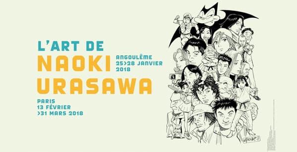 Affiche de l'exposition Urasawa