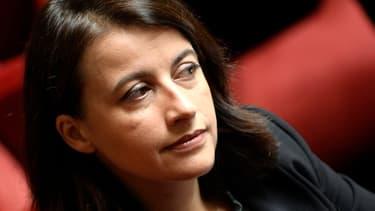 Cécile Duflot à l'Assemblée nationale, en octobre 2014.