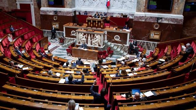 L'Assemblée nationale le 8 mai 2020