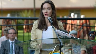 Angelina Jolie, ambassadrice des nations Unies à Nairobi au Kenya, le 20 juin 2017.