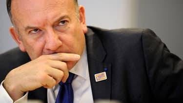 La proposition de Pierre Gattaz, ici à Bruxelles le 14 avril, a créé la polémique.