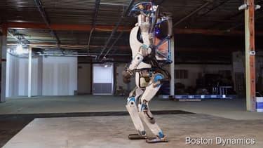 La dernière version du robot Atlas de Boston Dynamics.