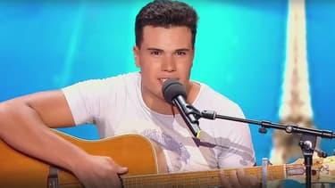 """Dany a repris une """"chanson hommage"""" pour son ami Alexandre, mort au Bataclan, pendant l'émission """"La France a un incroyable talent"""""""