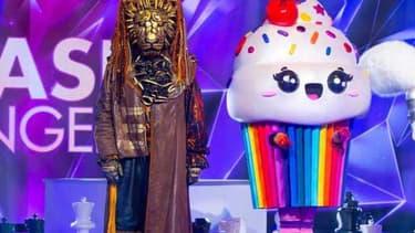 Le Lion et le Cupcake dans Mask Singer