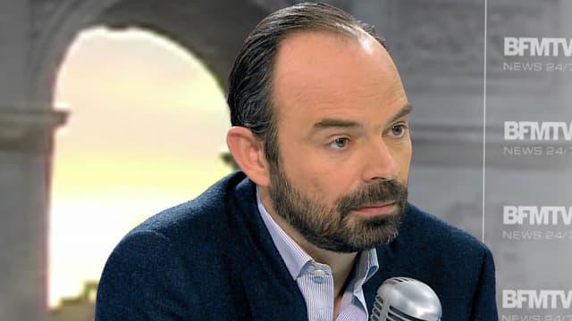 Edouard Philippe, député UMP du Havre et proche d'Alain Juppé, lundi matin sur BFMTV et RMC.
