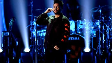 The Weeknd à Las Vegas en septembre 2017