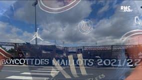 """PSG : """"Boycott des nouveaux maillots"""", la nouvelle banderole des Ultras"""
