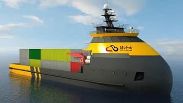 Le site de test de bateaux sans pilote de Zhuhai devrait devenir le plus grand du monde, avec une superficie totale, à terme, d'environ 770 km2.
