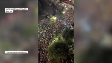 Une foule importante rassemblée à Nice pour le concert du DJ The Avener