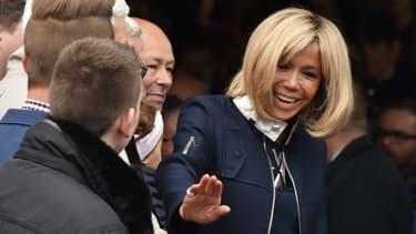 Brigitte Macron au Touquet, le 7 mai 2017.
