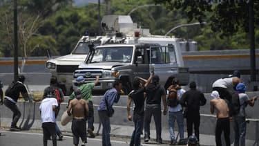 La tension est montée d'un cran ce mardi au Venezuela