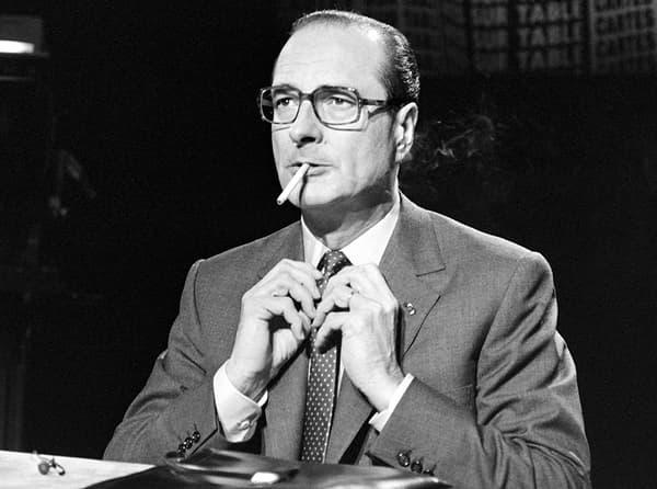 Jacques Chirac en 1981.