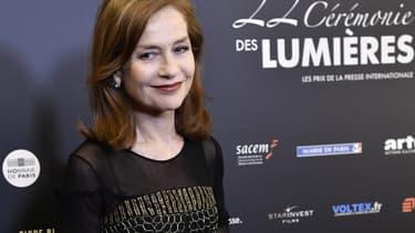 Isabelle Huppert, le 30 janvier 2017
