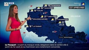 Météo: un soleil timide sur la côte d'Opale ce mardi, des températures peu élevées avec seulement 18°C à Boulogne et 20°C à Dunkerque