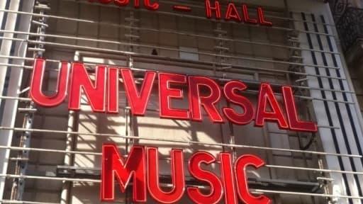 Bruxelles a forcé Universal à revendre un tiers d'EMI