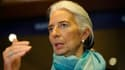 """Christine Lagarde, la dircetrice du FMI, a estimé que la croissance mondiale restait """"à petite vitesse""""."""