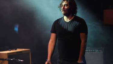 Damien Saez sur scène en juillet 2013