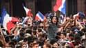 Le 10 juillet, des milliers de personnes sont descendues dans la rue pour célébrer la victoire de la France sur la Belgique