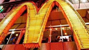 Le logo de la chaîne McDonald's