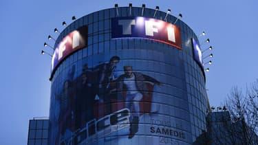 La tour de TF1 à Boulogne-Billancourt en 2017