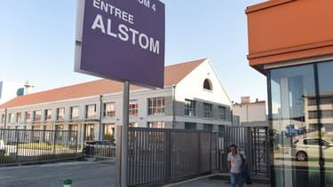 Le site de Belfort d'Alstom