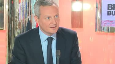 Bruno Le Maire, ancien ministre des Affaires européennes, était l'invité de BFM Business, mardi 21 mai.