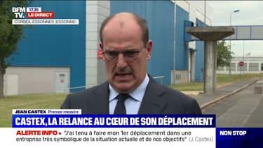 """Jean Castex dit vouloir """"assurer les fondements d'un maintien durable des emplois industriels dans notre pays"""""""