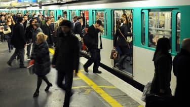 Le métro parisien, en 2010