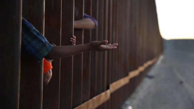 Un camp de migrants à la frontière entre les Etats-Unis et le Mexique, le 24 juin 2018.