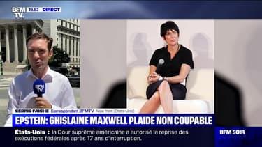 Affaire Epstein: Ghislaine Maxwell plaide non coupable