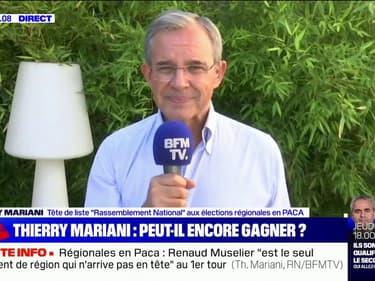 """Thierry Mariani: Si la région PACA """"reste dans les mains de Monsieur Muselier, le premier qui ouvrira le champagne, c'est le président Macron"""""""