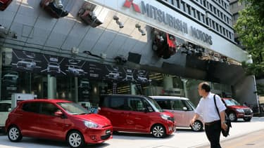 Mitsubishi dans la tourmente.