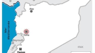 NOUVEAUX BOMBARDEMENTS À HOMS EN SYRIE