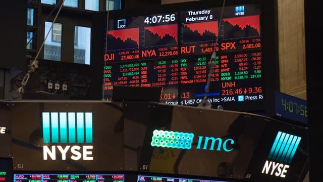 Le coronavirus pèse sur Wall Street et les Bourses européennes