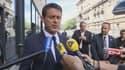 Le Premier ministre Manuel Valls, le 21 juillet 2015