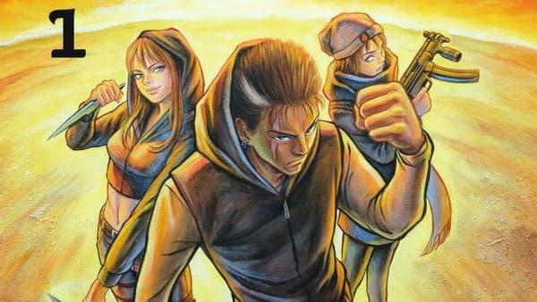 Détail de la couverture de Devil's Relics, le manga de Maître Gims
