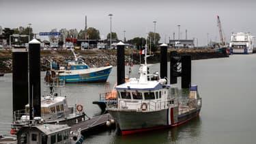Le port de Caen (PHOTO D'ILLUSTRATION)