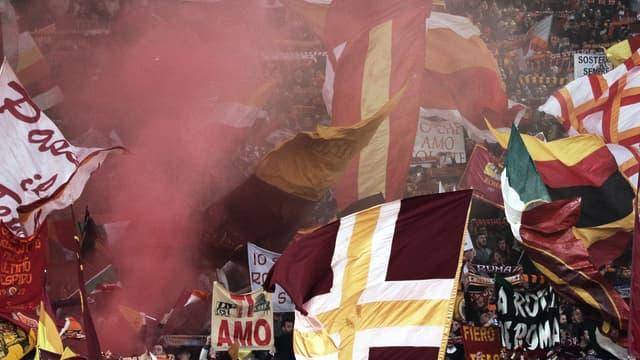 Les supporters de l'AS Roma
