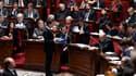 Manuel Valls devant l'Assemblée nationale